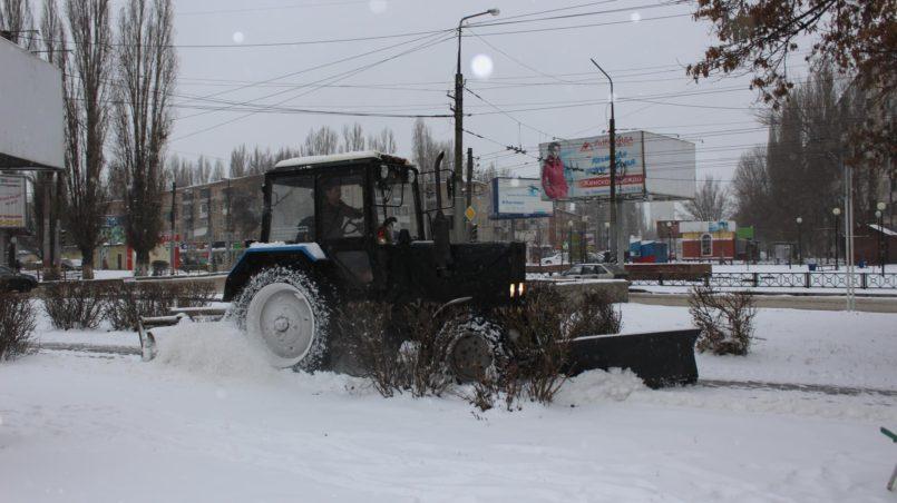 Уборка снега Энгельс